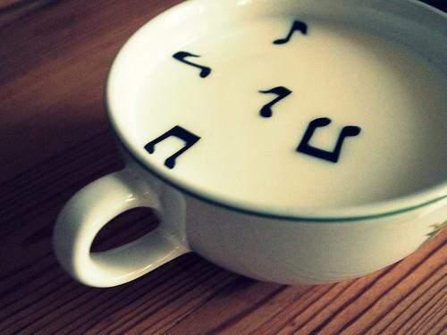 Μια ζεστή κούπα μουσικής