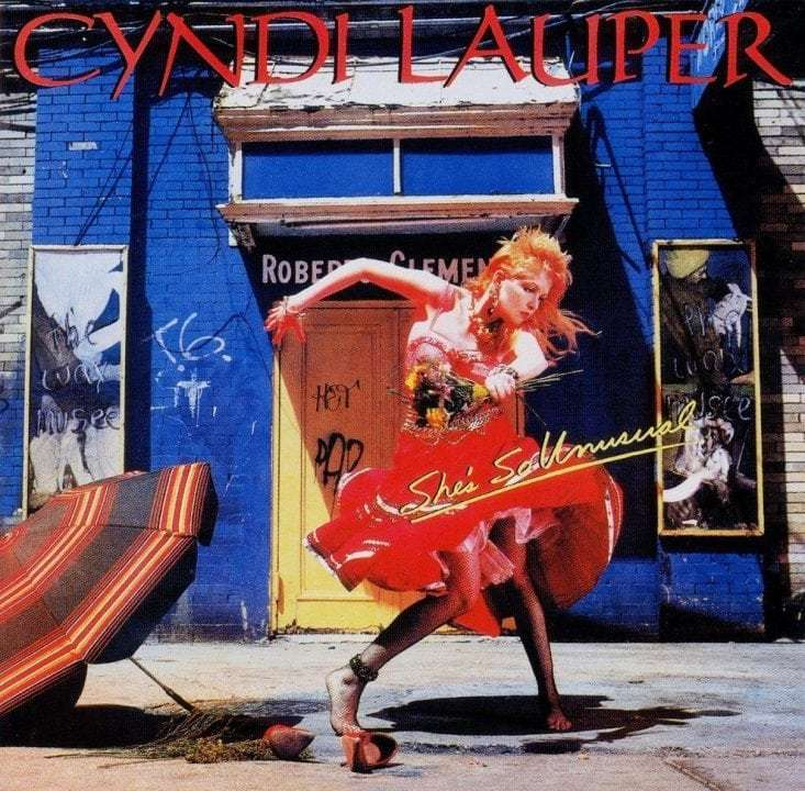Cyndi Lauper, 'She's So Unusual'