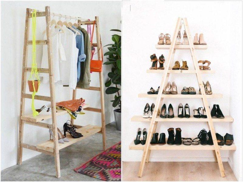 ξύλινη σκάλα