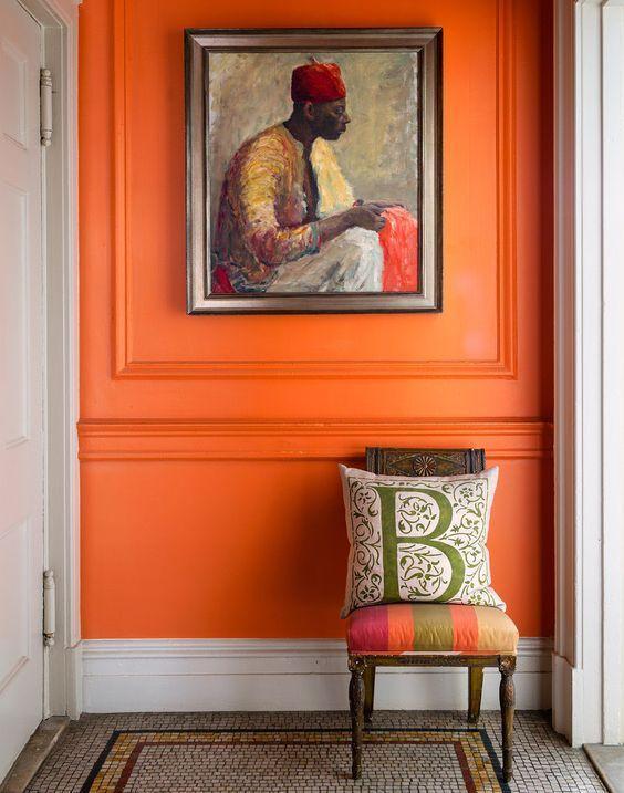 πορτοκαλι τοιχοσ