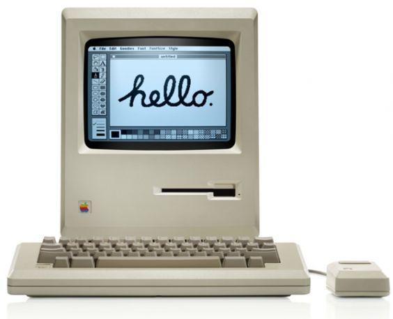 O πρώτος Macintosh μας χαιρετά