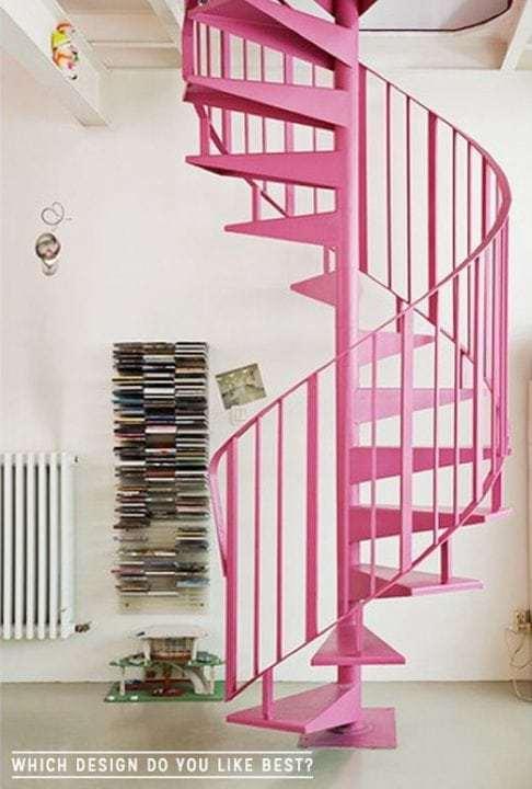 ροζ σκαλα