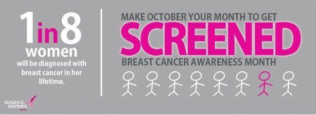 Οκτώβριος: Μήνας ευαισθητοποίησης για τον καρκίνο μαστού