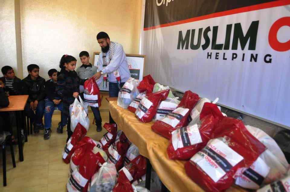 Η βοήθεια της Muslim Charity στην Γάζα