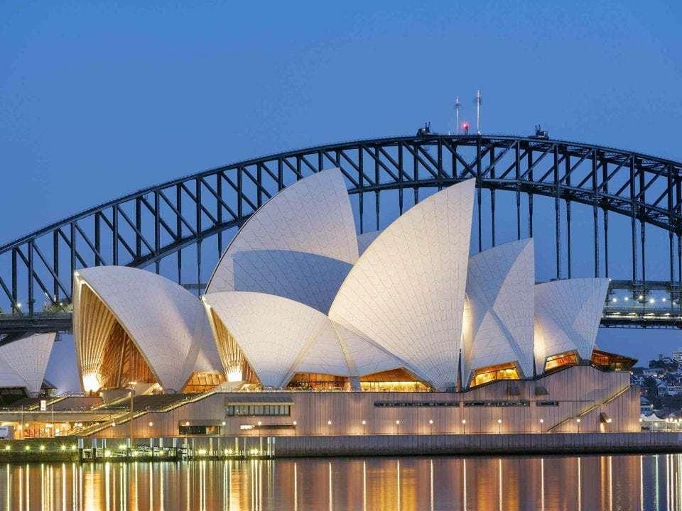 Το μαγευτικό κτήριο-κοχύλι της Όπερας