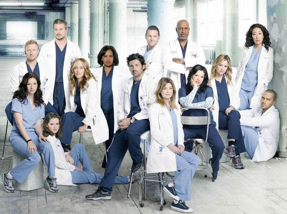 Καλύτερες σειρές - Grey's Anatomy
