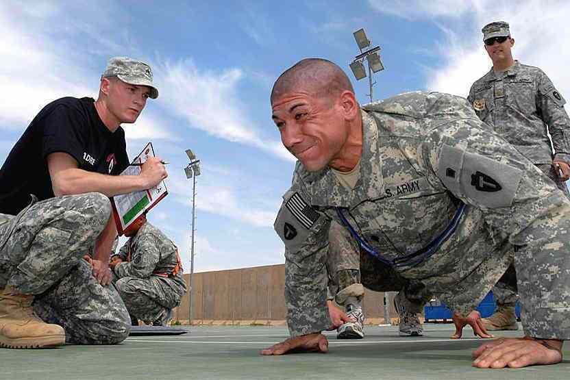 push-up army
