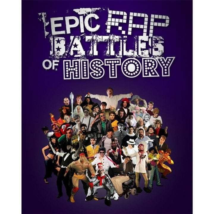 Epic Rap Battles - Poster - MaxMag