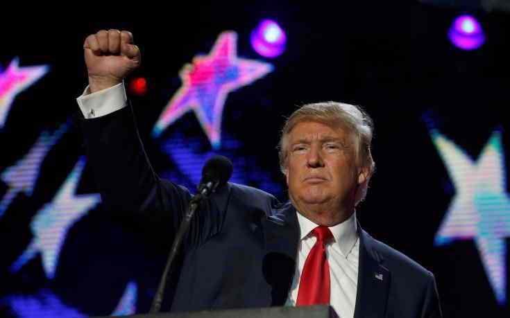 Ο Ντόναλντ Τραμπ 45ος Πρόεδρος των Ηνωμένων Πολιτειών