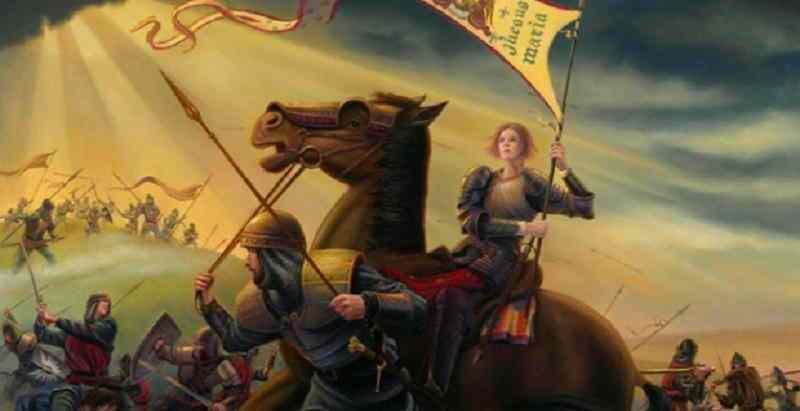 Αποτέλεσμα εικόνας για Ιωάννα της Λωραίνης ~ Η Πολέμαρχος του Θεού