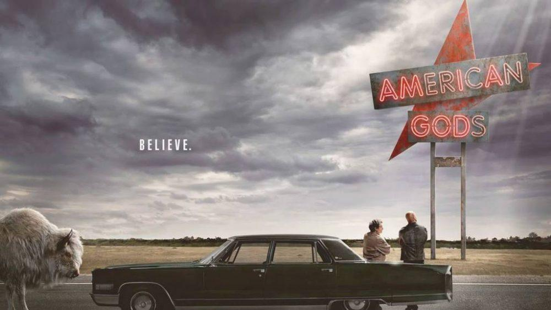American Gods - Cover - MaxMagTv
