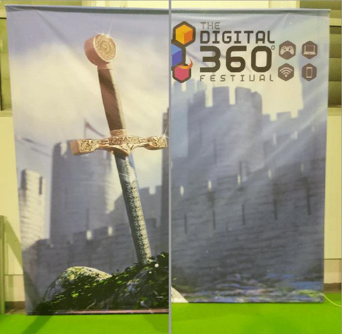 αφίσα στο Digital 360 Game Festival