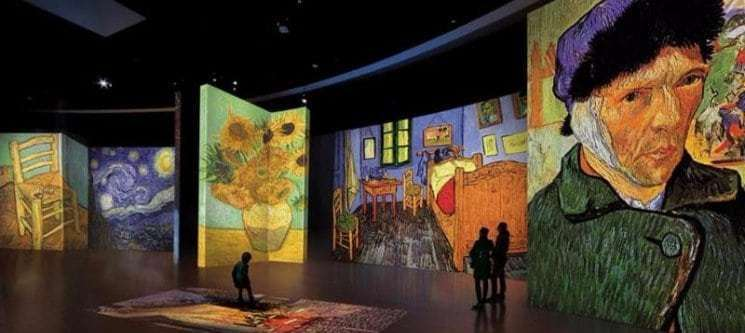Μέγαρο Μουσικής Αθηνών: Van Gogh Αlive-The experience
