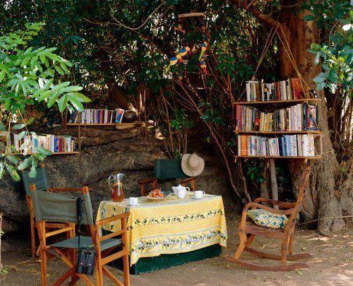 βιβλιοθήκες συναντούν την φύση