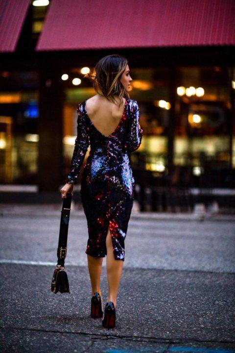 φορέματα γεμάτα λάμψη