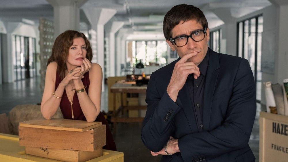 Velvet Buzzsaw-Variety.com: οι Rene Rousso και Jake Gyllenhaal σε χαρακτηριστικό στιγμιότυπο της ταινίας