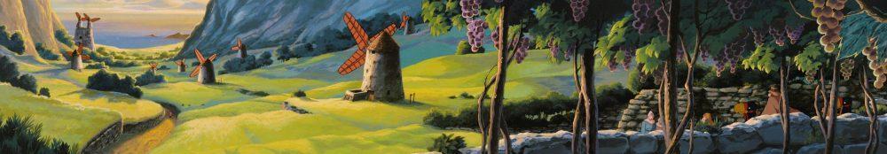 Nausicaa, Ναυσικά, κοιλάδα των ανέμων