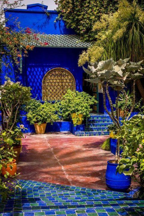 O κήπος Majorelle : μια μαγευτική όαση στο Μαρόκο