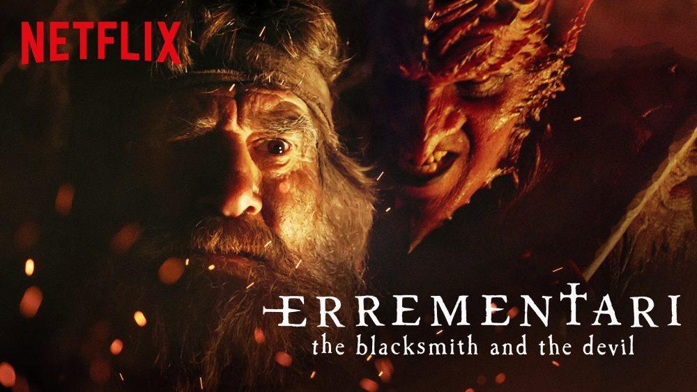 Errementari- boogieman.com- η επίσημη αφίσα της ταινίας: ο διάβολος και ο Σιδεράς