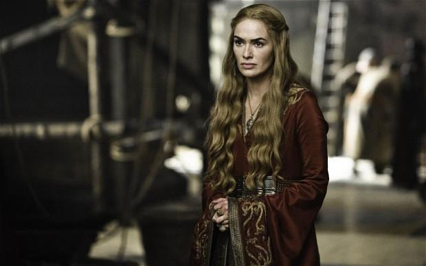 telegraph.co.uk-η Lnada Heady ως η badass evil Cersei Lanister