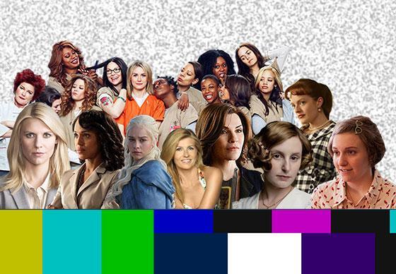 γυναίκες στην τηλεόραση