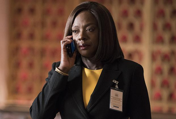 "HOW TO GET AWAY WITH MURDER - tvline.com ""Lahey v. Commonwealth of Pennsylvania"" - As badass Annalise's class-action case hangs in the balance, a meeting with the esteemed Washington D.C. fixer, Olivia Pope, proves to be crucial in getting the opportunity to argue her case in the nation's highest court. Meanwhile, Bonnie discovers concerning information pertaining to Simon that threatens to expose what really happened during night he was shot, on a special, TGIT Crossover Event episode of ""How to Get Away with Murder,"" THURSDAY, MARCH 1 (10:00-11:00 p.m. EST), on The ABC Television Network. (ABC/Mitch Haaseth) VIOLA DAVIS"