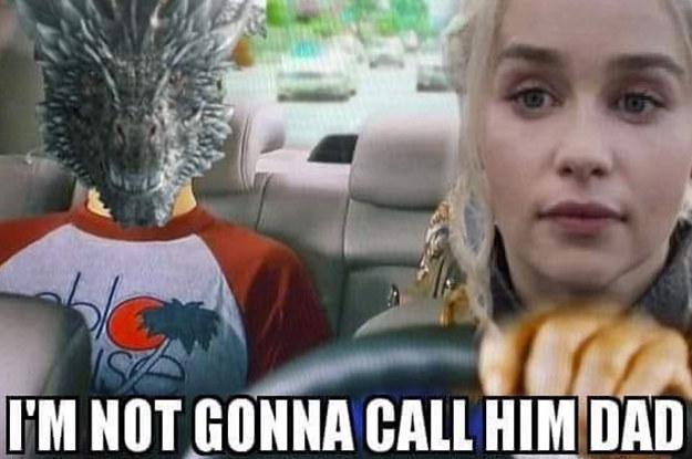 GoT memes - Daenerys-Drogon