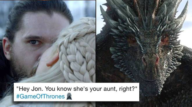 GoT memes - Daenerys-Jon-Drogon