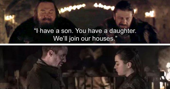 GoT memes - Arya