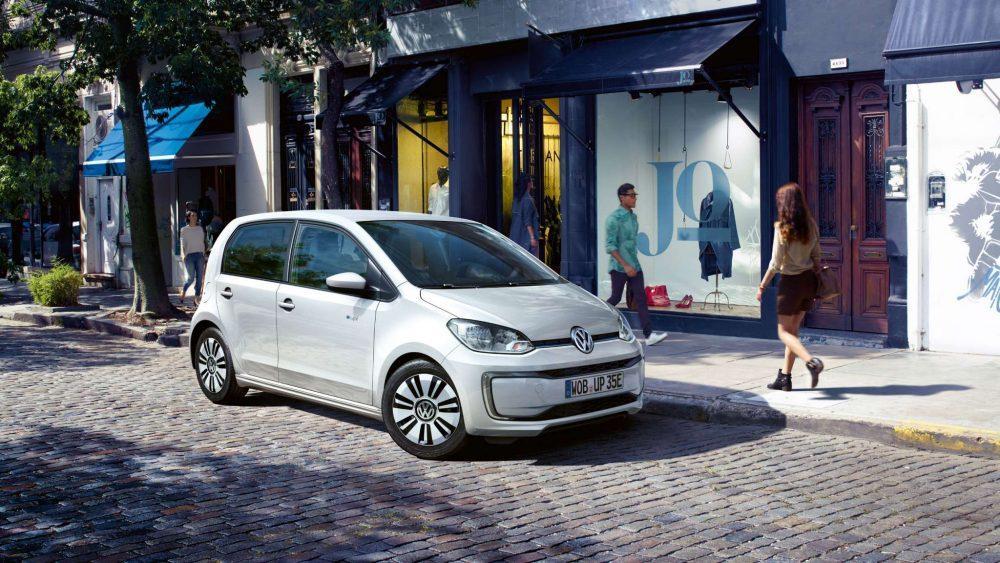 Μια εικόνα του VW e-up
