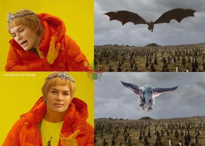 GoT memes - Cersei-elephants