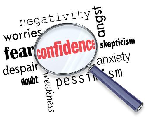 λίγη αυτοπεποίθηση