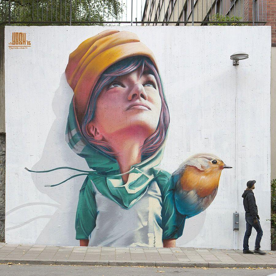 Τοιχογραφία στην Στοκχόλμη