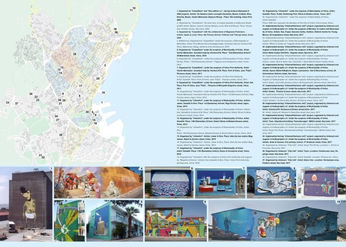 Χάρτης δημόσιων τοιχογραφιών Βόλου