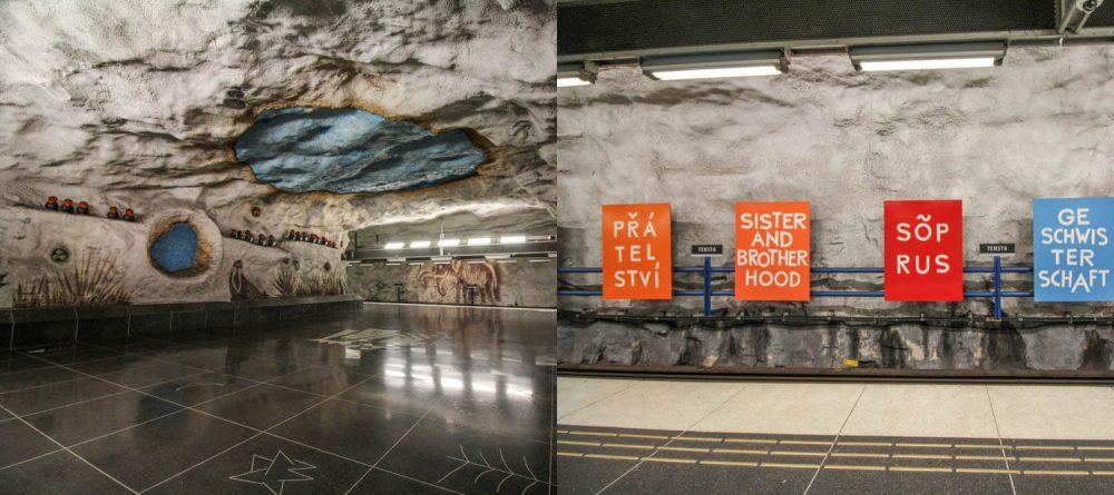 Tensta σταθμός μετρό της Στοκχόλμης