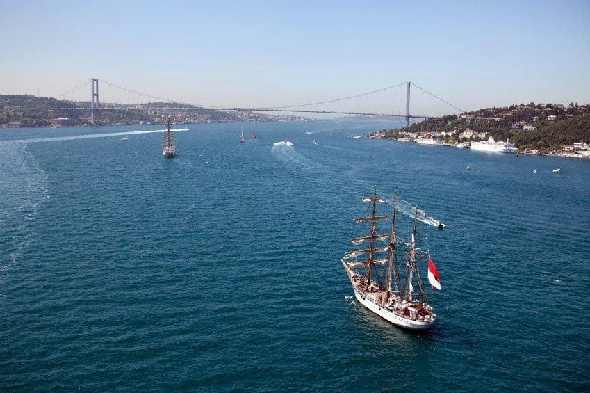 Βόσπορος- θέα στην Κωνσταντινούπολη