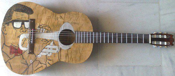πράσινη κιθάρα