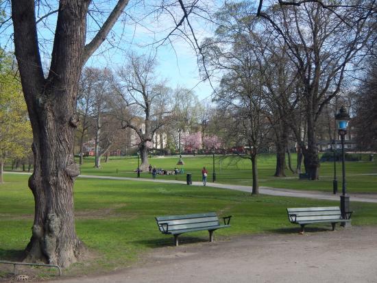 πάρκο Humlegården στη Στοκχόλμη