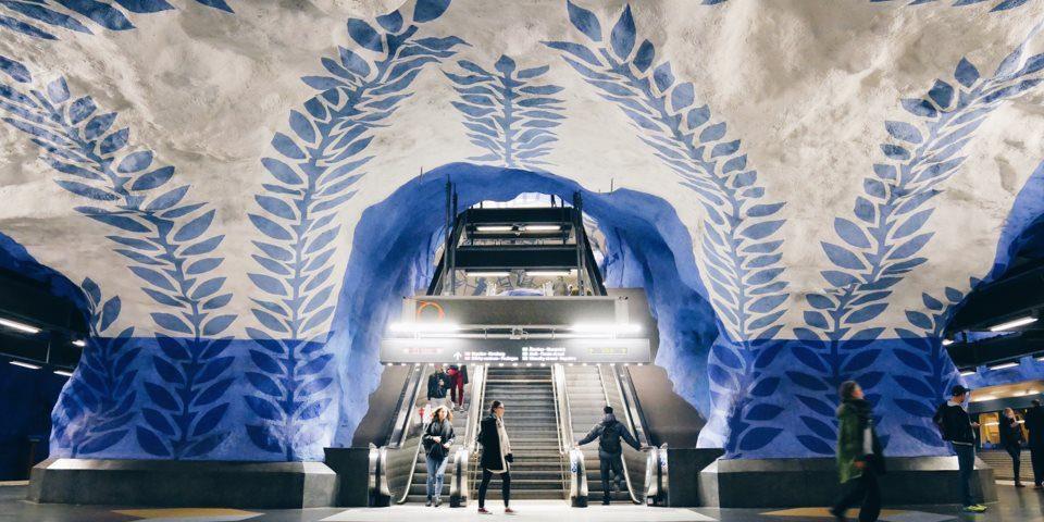 t-centralen σταθμός μετρό της Στοκχόλμης