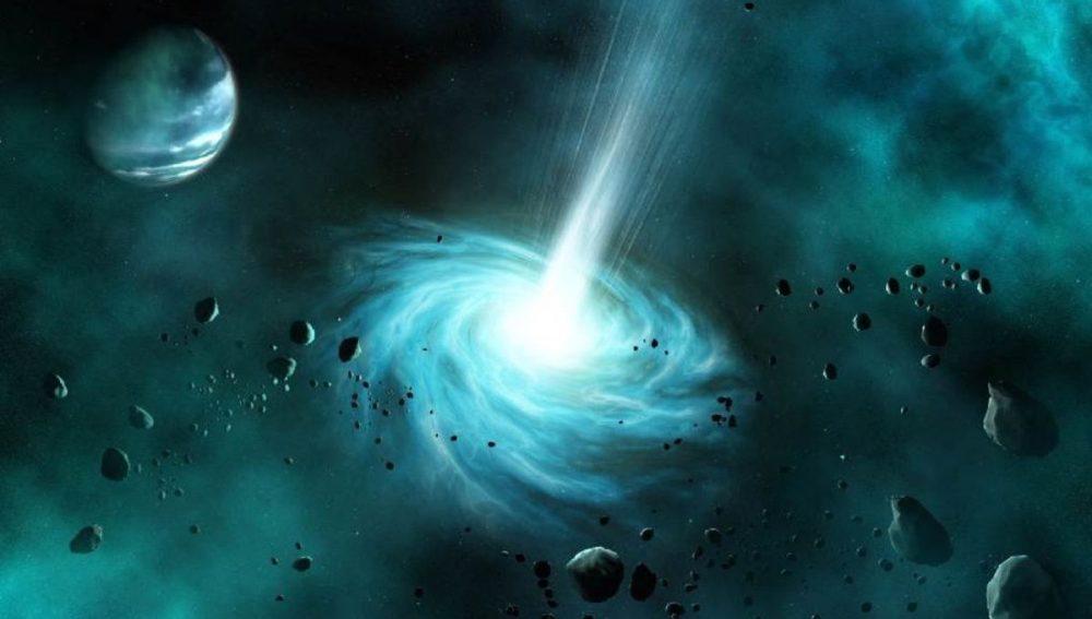 Σκουληκότρυπα-πλανήτες-φως-διάστημα