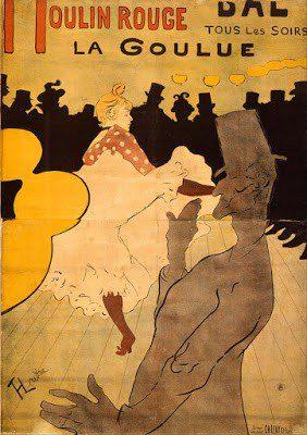 Ανρί ντε Τουλούζ-Λωτρέκ- Η πρώτη του αφίσα