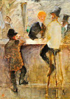 Ανρί ντε Τουλούζ-Λωτρέκ- Στο μπάρ, 1887
