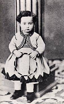 Ανρί ντε Τουλούζ-Λωτρέκ παιδί