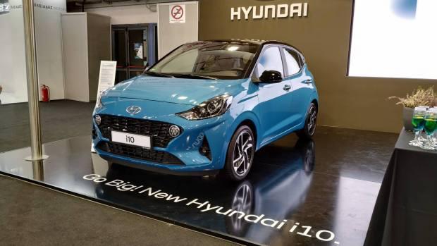 Το νέο Hyundai i10 στην έκθεση αυτοκινήτου Αυτοκίνηση Anytime 2019
