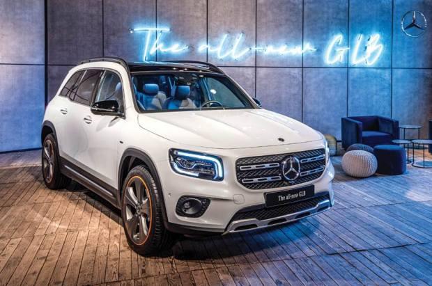 Η νέα Mercedes-Benz GLB στην έκθεση αυτοκινήτου Αυτοκίνηση Anytime 2019