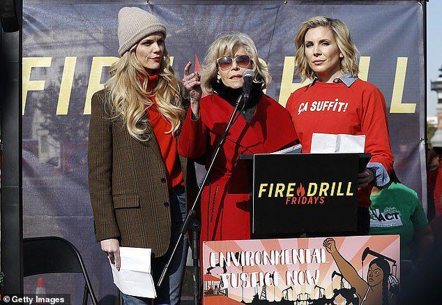 Jane Fonda και οι τηλεοπτικές της κόρες