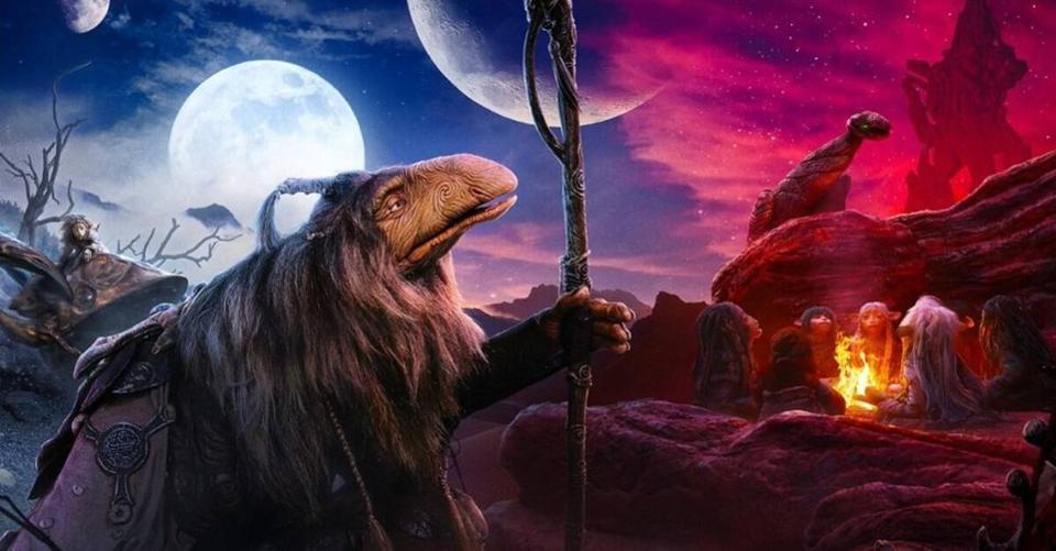 dark crystal σειρά animation