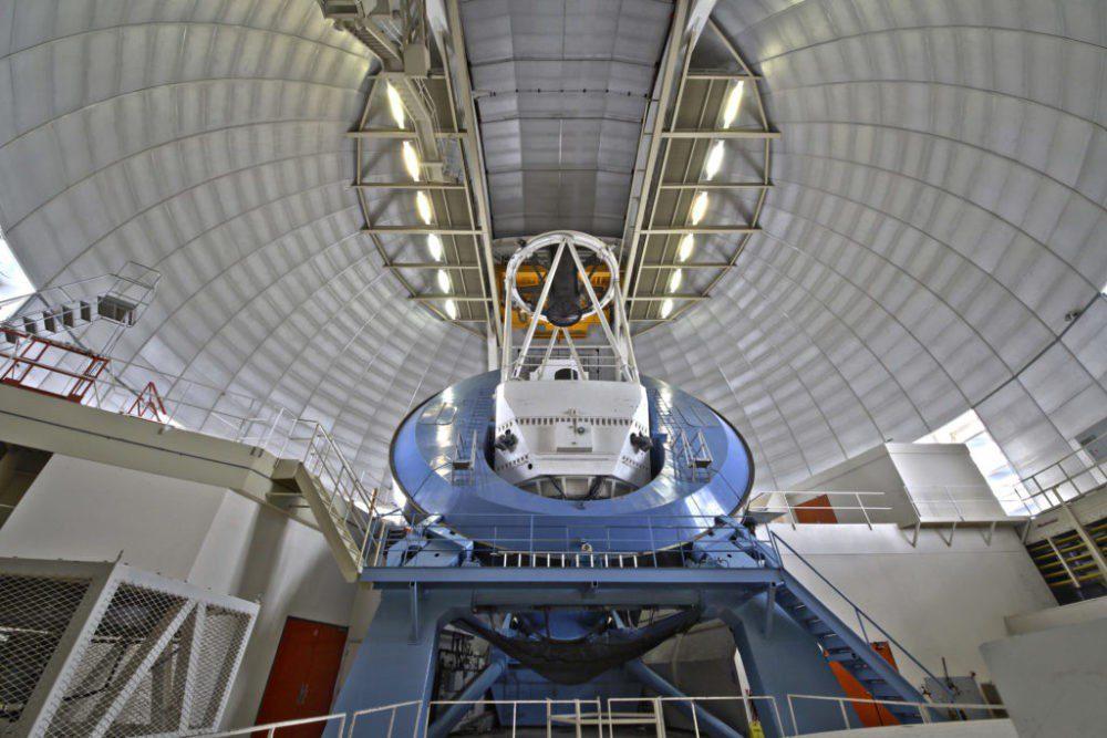 εσωτερικό τηλεσκοπίου Mayall-σκοτεινή ενέργεια