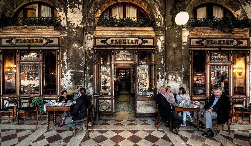 Ιστορικά καφενεία του κόσμου