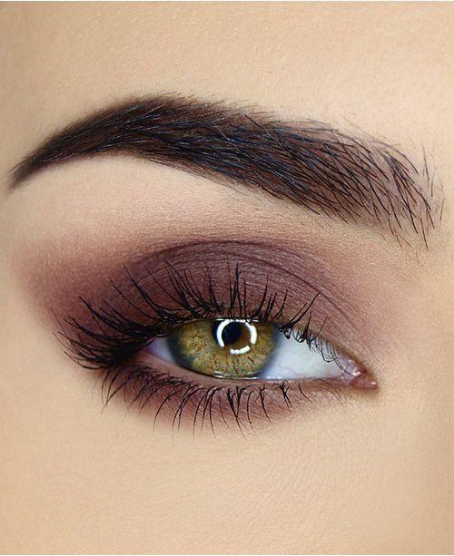 dusty pink μακιγιάζ για έντονο βλέμμα